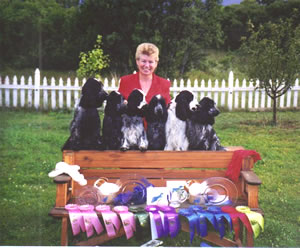 Nancy Praisweater, Breeder of Champion English Cocker Spaniels